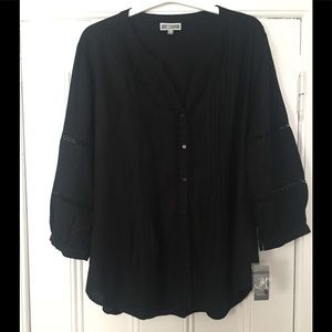 NWT JM Collection Cotton Tunic